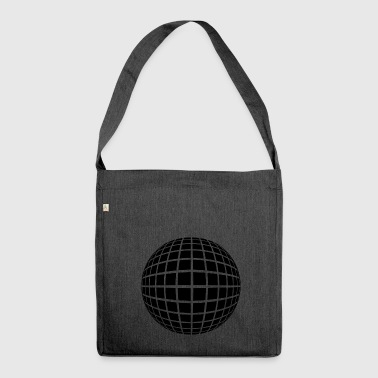 Disco ball in perspective Gift - Shoulder Bag made from recycled material