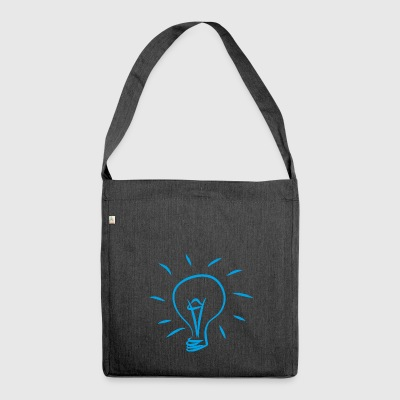 Lampe - Schultertasche aus Recycling-Material