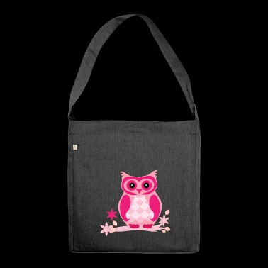 Owl fumetto - Borsa in materiale riciclato