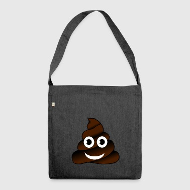Whatsapp Smiley - Schultertasche aus Recycling-Material