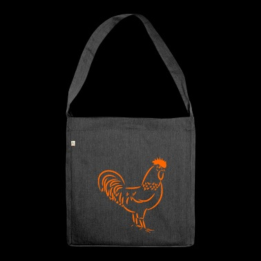 gallo - Borsa in materiale riciclato