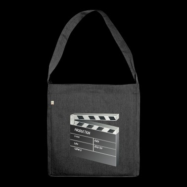 Film Klappe - Schultertasche aus Recycling-Material