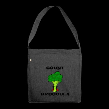 Count Broccula - Shoulder Bag made from recycled material