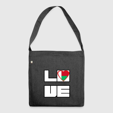 Love Land Roots Madagaskar - Schultertasche aus Recycling-Material