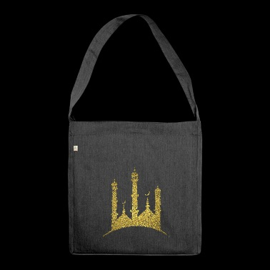 Golden Mosque - Shoulder Bag made from recycled material