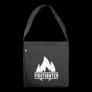 Firefighter Firefighting fire fire department fire - Shoulder Bag made from recycled material