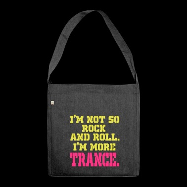 Trance-Trance - Schultertasche aus Recycling-Material