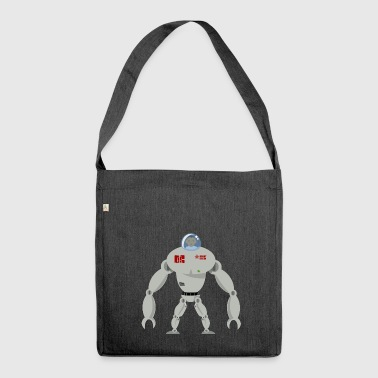 Spaceman - Schultertasche aus Recycling-Material