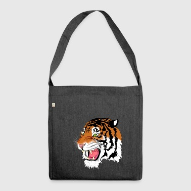 Tiger Roar - Shoulder Bag made from recycled material