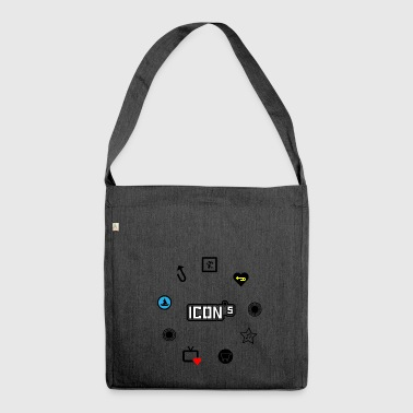 icons - Shoulder Bag made from recycled material