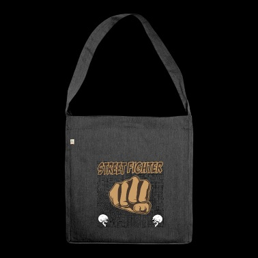 street fighters - Shoulder Bag made from recycled material