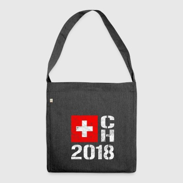 Svizzera Football - CH 2018 SUI - Borsa in materiale riciclato