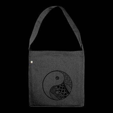 Yin Yang - Shoulder Bag made from recycled material