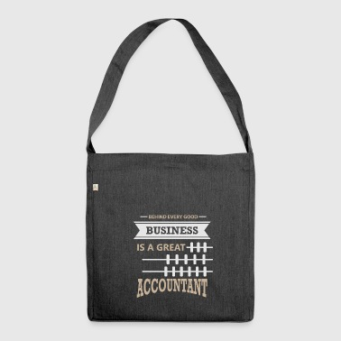 Accountant accountant - Shoulder Bag made from recycled material