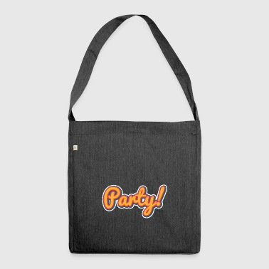 Party - Schultertasche aus Recycling-Material