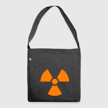 Nuclear sign - Shoulder Bag made from recycled material