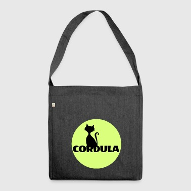 Cordula Name First name - Shoulder Bag made from recycled material