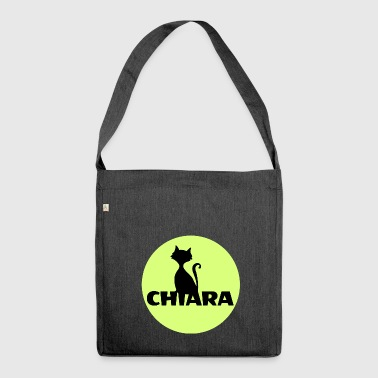 Chiara Name first name - Shoulder Bag made from recycled material