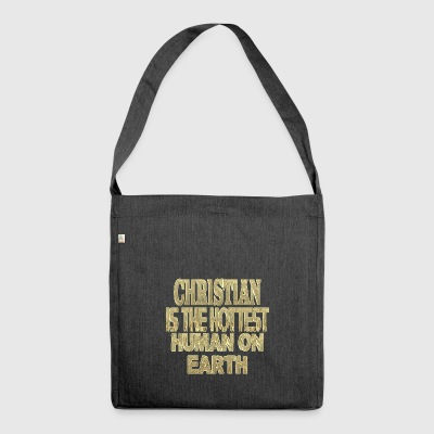 Christian - Shoulder Bag made from recycled material