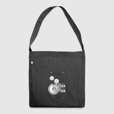 Equalizer Music Soundbeats Rhythm Bass Membrane - Shoulder Bag made from recycled material