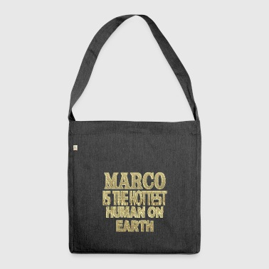Marco - Schultertasche aus Recycling-Material
