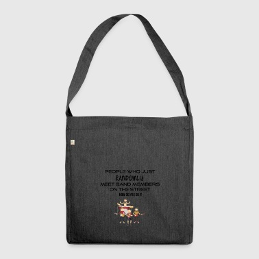 Band members - Shoulder Bag made from recycled material