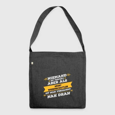 Sports scientist occupation gift - Shoulder Bag made from recycled material