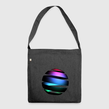 Glowing Sphere - Schultertasche aus Recycling-Material
