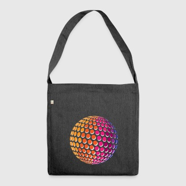 Dotted Rainbow Sphere - Schultertasche aus Recycling-Material