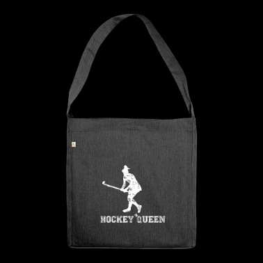 Hockey Queen | Hockey Stick | Hockey player - Shoulder Bag made from recycled material