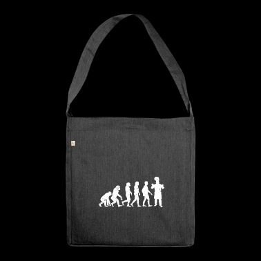 Chef evolution cuisine kitchen gift chef - Shoulder Bag made from recycled material