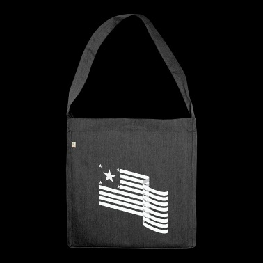 america - Shoulder Bag made from recycled material