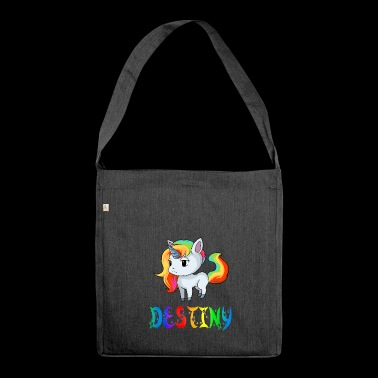 Unicorn Destiny - Shoulder Bag made from recycled material