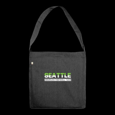 Seattle Football - Schultertasche aus Recycling-Material