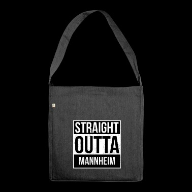 Straight Outta Mannheim - Shoulder Bag made from recycled material