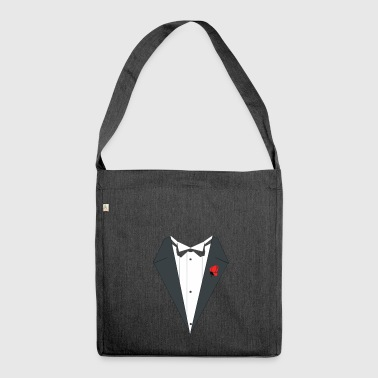 Cheap suit for the special occasion - Shoulder Bag made from recycled material