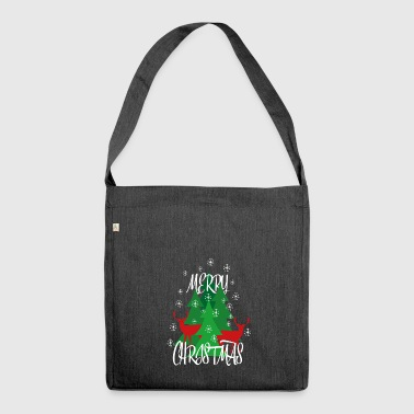 Christmas - Christmas - Shoulder Bag made from recycled material