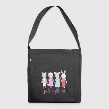 Girls Night Out - Shoulder Bag made from recycled material
