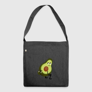 Avocado Twerk - Shoulder Bag made from recycled material