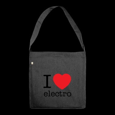 Electro - Schultertasche aus Recycling-Material