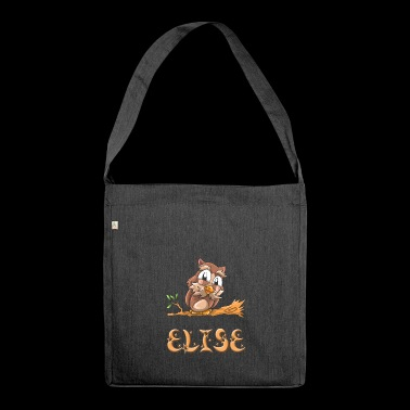Eule Elise - Schultertasche aus Recycling-Material
