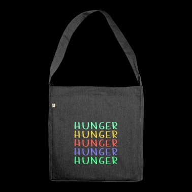 Shop Colorful Hunger Design - Sac bandoulière 100 % recyclé