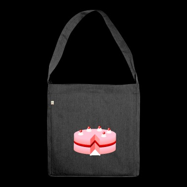 cake - Shoulder Bag made from recycled material
