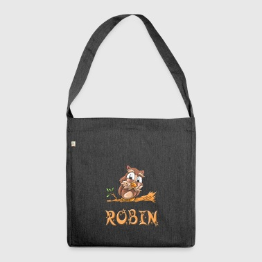 Eule Robin - Schultertasche aus Recycling-Material