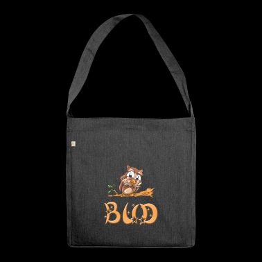 Eule Bud - Schultertasche aus Recycling-Material