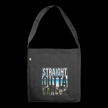 Straight outta Cancun - Shoulder Bag made from recycled material