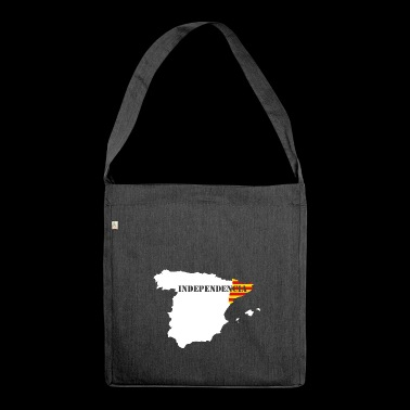 Catalan independence - Shoulder Bag made from recycled material