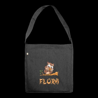 Eule Flora - Schultertasche aus Recycling-Material