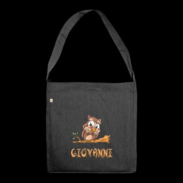 Eule Giovanni - Schultertasche aus Recycling-Material