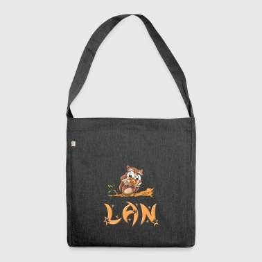 Owl Lan - Shoulder Bag made from recycled material